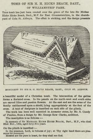 tomb-of-sir-m-h-hicks-beach-baronet-of-williamstrip-park