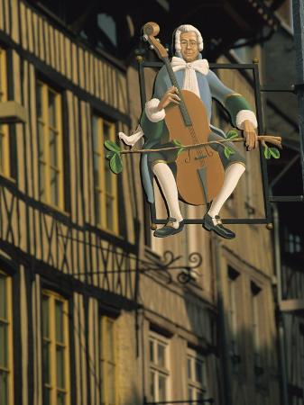 tomlinson-ruth-sign-outside-music-shop-in-rue-eau-de-robec-rouen-seine-maritime-haute-normandie-france