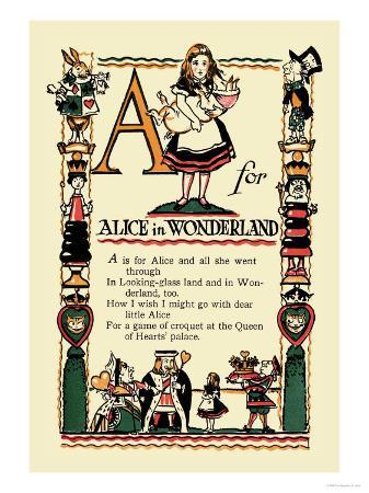 tony-sarge-a-for-alice-in-wonderland