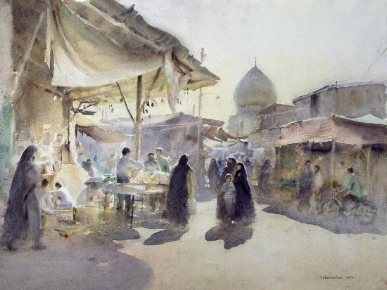 trevor-chamberlain-light-and-shade-shiraz-bazaar-1994