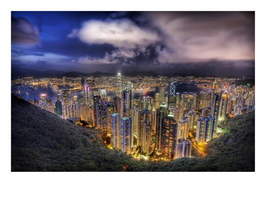 trey-ratcliff-hong-kong-from-the-peak-on-a-summer-s-night