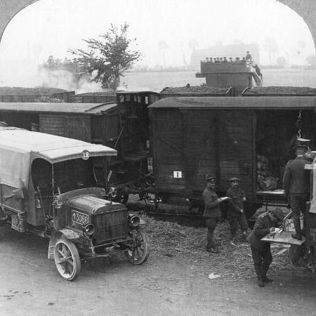 troops-and-supplies-are-rushed-from-a-railhead-to-the-firing-line-world-war-i-c1914-c1918