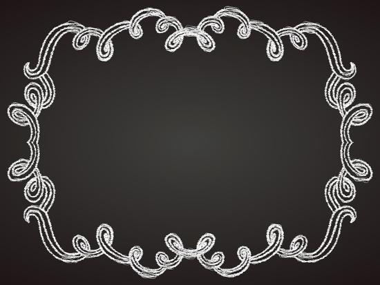 tukkki-ornamental-frame-on-chalkboard