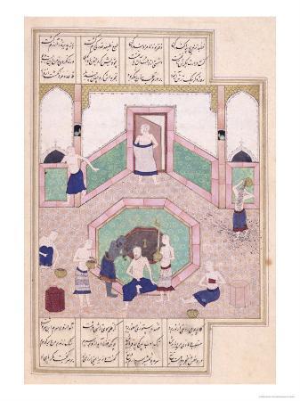 turkish-bath-from-khusrau-and-shirin-by-elyas-nezami