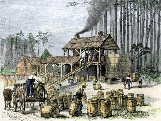 turpentine-distillery-in-north-carolina-c-1870