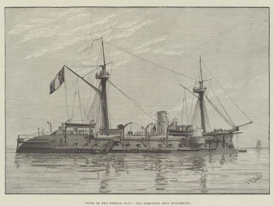 types-of-the-french-navy-the-armoured-ship-duguesclin