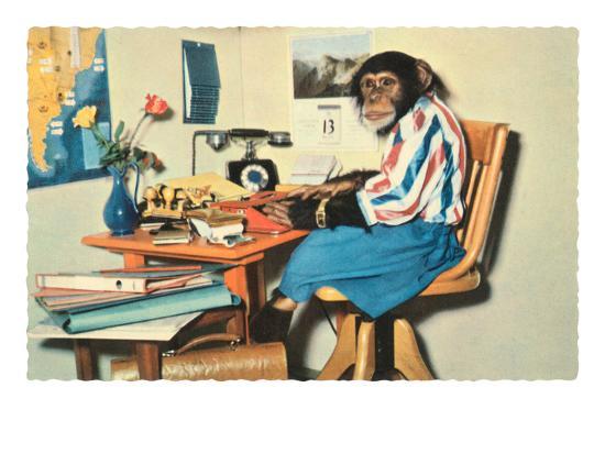 typing-chimpanzee