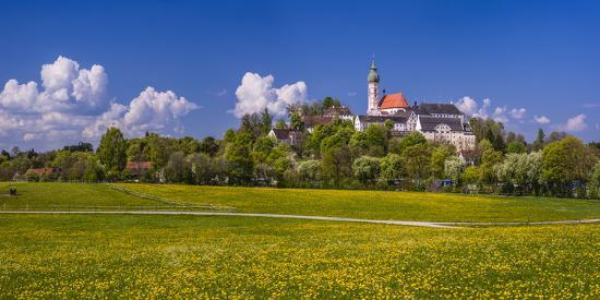 udo-siebig-germany-bavaria-upper-bavaria-f-nfseenland-andechs-spring-scenery-with-cloister-of-andechs
