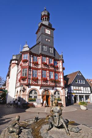 udo-siebig-germany-hessen-bergstra-e-region-lorsch-town-hall-front-view