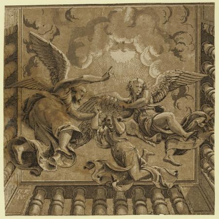 ugo-da-carpi-ceiling-with-three-angels-between-ca-1515-and-1535