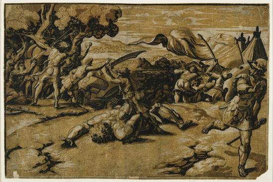 ugo-da-carpi-david-slaying-goliath-c-1518