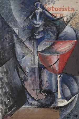 umberto-boccioni-still-life-glass-and-siphon-c-1914
