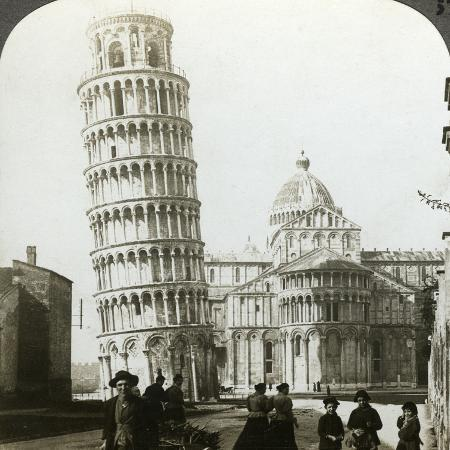 underwood-underwood-cathedral-and-leaning-tower-of-pisa-italy