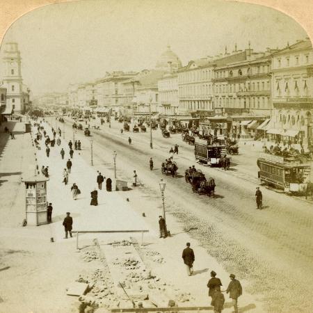 underwood-underwood-nevsky-prospekt-the-principal-street-of-st-petersburg-russia-1897