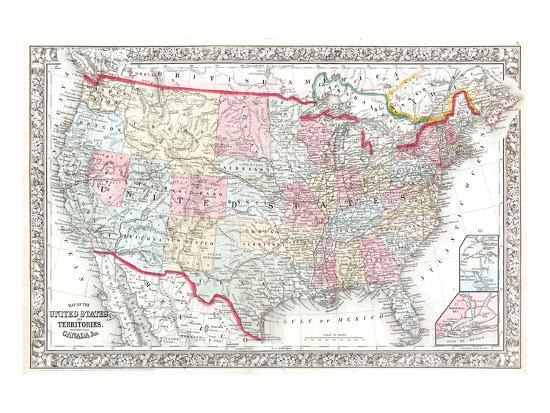 united-states-canada-map