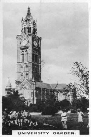 university-garden-bombay-india-c1925