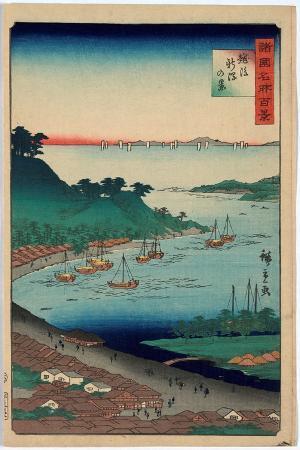 utagawa-hiroshige-echigo-niigata-no-kei