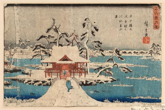 utagawa-hiroshige-inokashira-no-ike-benzaiten-no-yashiro
