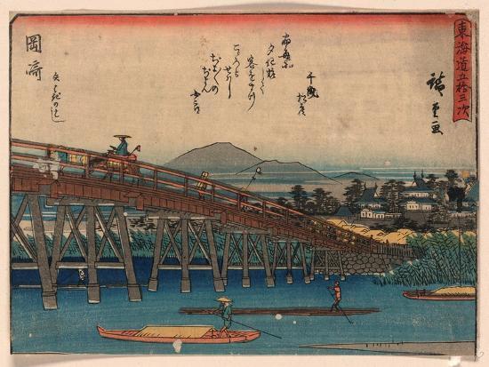 utagawa-hiroshige-okazaki