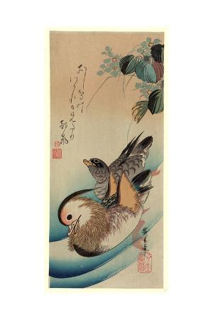 utagawa-hiroshige-oshidori