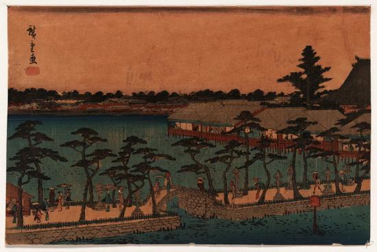 utagawa-hiroshige-shinobazu-no-ike