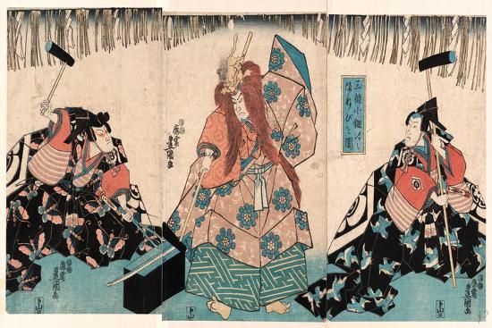 utagawa-kunisada-sanjo-kokaji-no-manebigoto-zu