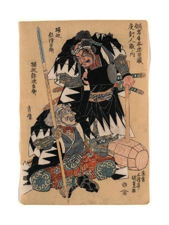 utagawa-toyokuni-horibe-yatsubei-horibe-yajibei-shozo
