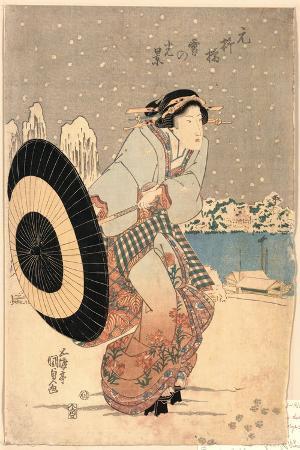 utagawa-toyokuni-moto-yanagibashi-yuki-no-kokei
