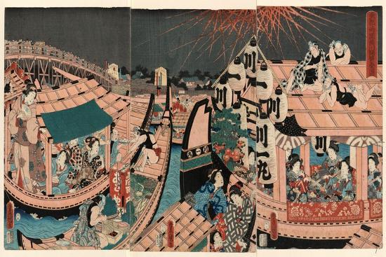 utagawa-toyokuni-toto-ryogokubashi-kawabiraki-han-ei-zu