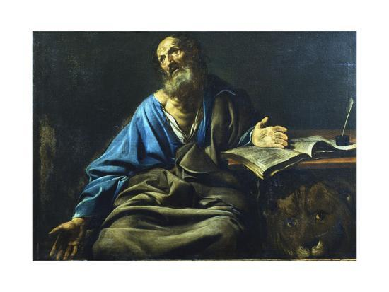 valentin-de-boulogne-st-mark-the-evangelist-c1611-1632