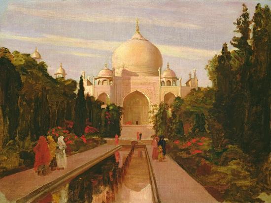 valentine-cameron-prinsep-the-taj-mahal-1877