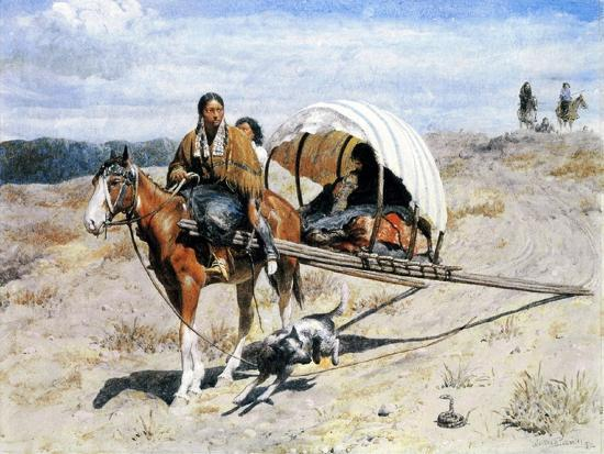 valentine-walter-lewis-bromley-indian-crow-family-on-the-trail-1874