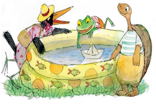 valeri-gorbachev-ted-ed-caroll-and-the-swimming-pool-turtle