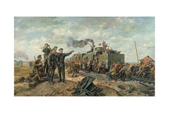 vasili-khvostenko-stalin-and-voroshilov-on-the-reconnoitring-expedition-20th-century