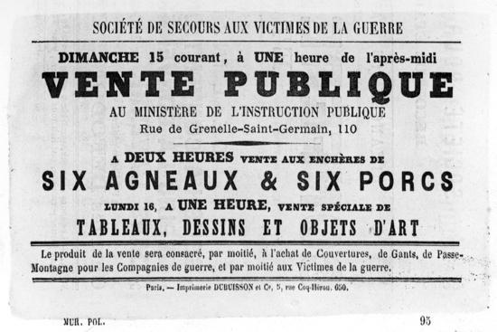 vente-publique-from-french-political-posters-of-the-paris-commune-may-1871