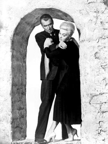 Vertigo James Stewart Kim Novak 1958