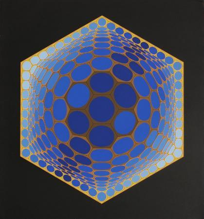 victor-vasarely-composition-alveolaire