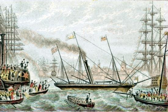 victoria-and-albert-the-first-steam-driven-royal-yacht-c1855