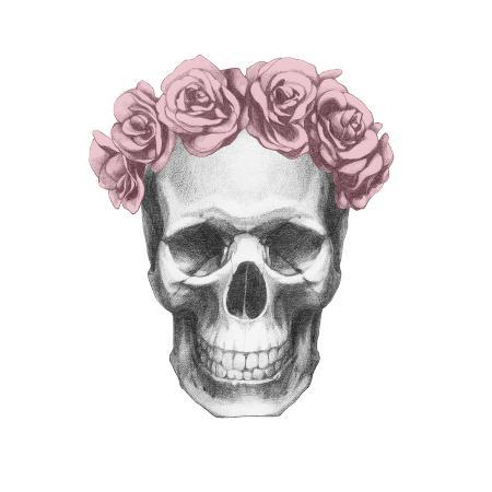 victoria-novak-original-drawing-of-ram-with-roses-isolated-on-white-background