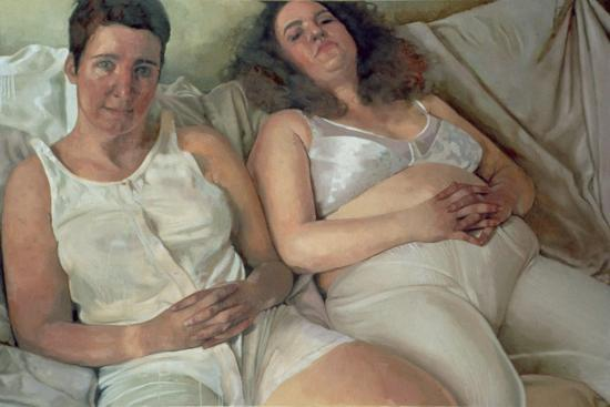 victoria-russell-two-women-in-white-2000