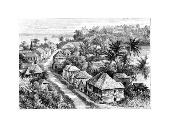 view-of-basse-terre-guadeloupe-c1890