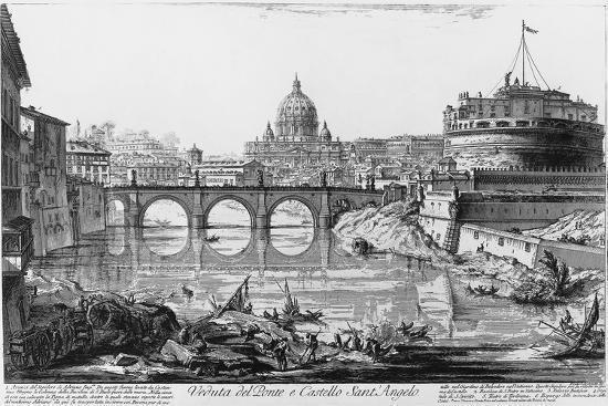 view-of-bridge-and-castle-sant-angelo-in-rome