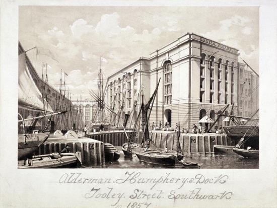 view-of-john-humphrey-s-dock-and-hay-s-wharf-tooley-street-bermondsey-london-1857