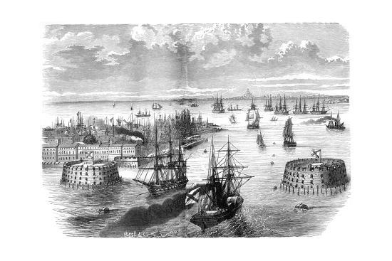 view-of-kronstadt-russia-1882-1884