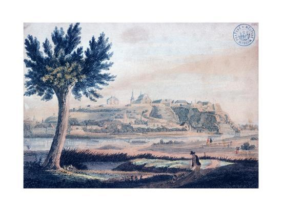 vincenc-morstadt-view-of-vysehrad-c-1830