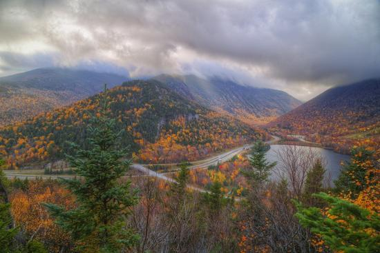 vincent-james-morning-storm-at-echo-lake-white-mountain-new-hampshire