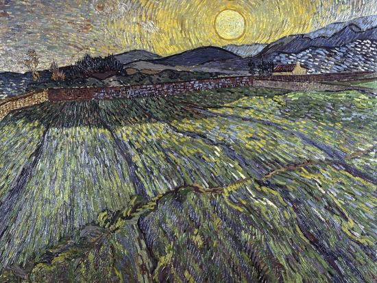 vincent-van-gogh-enclosed-field-with-rising-sun-1889