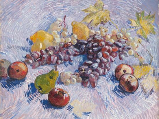 vincent-van-gogh-grapes-lemons-pears-and-apples-1887