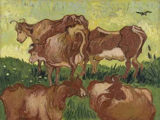 vincent-van-gogh-les-vaches-d-apres-jacob-jordaens-et-van-ryssel
