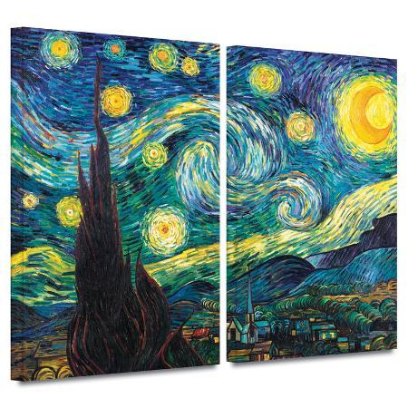 vincent-van-gogh-starry-night-2-piece-gallery-wrapped-canvas